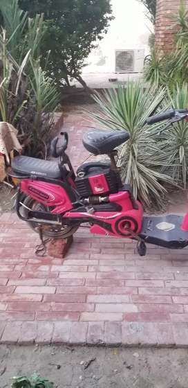 A bettery motorcycle for kids bettery is not in workimg condition