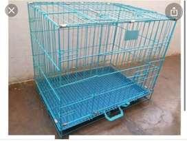 Foldable pet cage