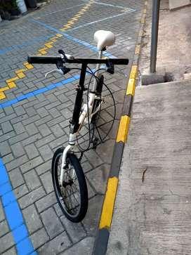 dijual sepeda lipat merk cobra 2.0