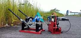 Distributor mesin las hdpe ATS 160 manual 2 clamp