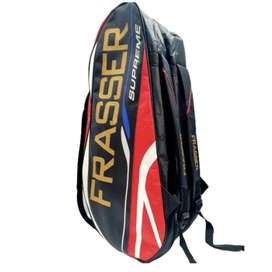 tas raket badminton frasser tripoli merah
