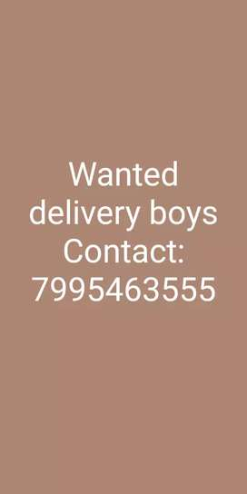 Wanted delivery boys in Attapur