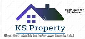 10 Marla Plaza Ground Floor for rent in Ghouri Town Islamabad