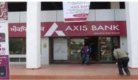 Urgent requirement for axis Bank