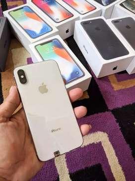 Iphone X 64GB Silver BH 100%