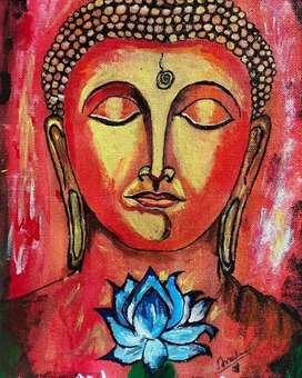 Buddha framed painting