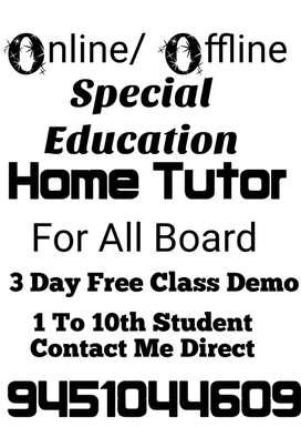 Special home teacher
