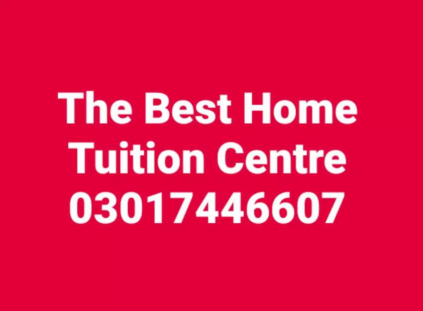The Best Home Tuition Centre 0