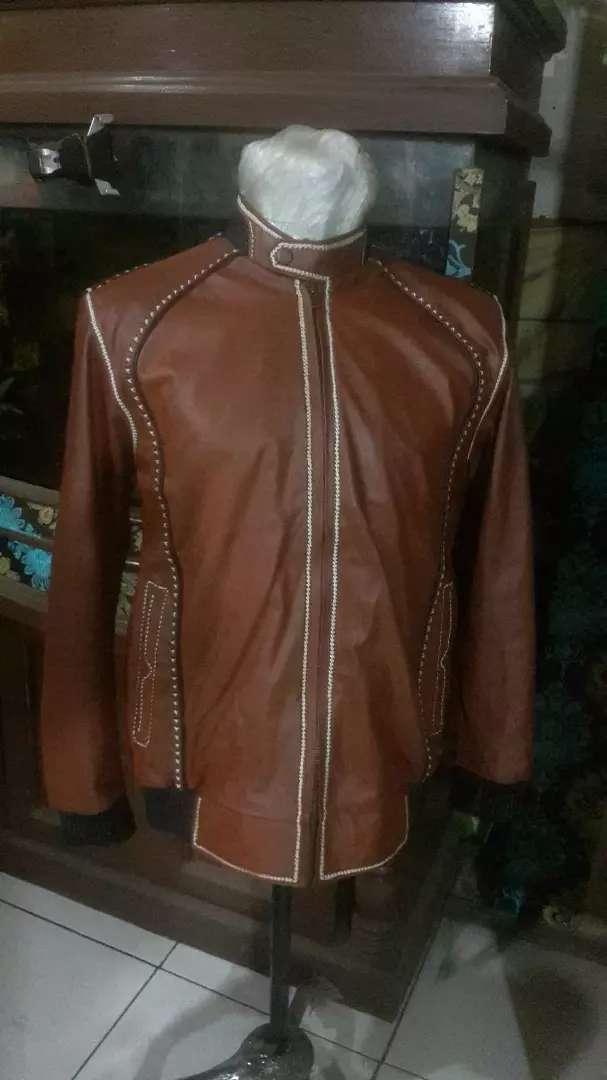 Jaket kulit100% asli garut..