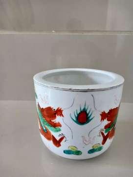 Guci Kecil Gambar Naga made in China