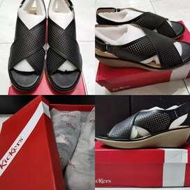 Sepatu Sandal Wedges merk Kickers