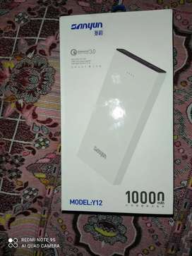 Sanyun Power powerbank 10000Mah. Fast charge input and outpot
