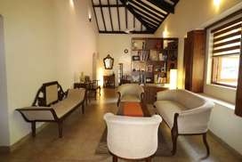 4Bhk Independent Bungalow furnished for Sale in Divar, North-Goa.(3.75