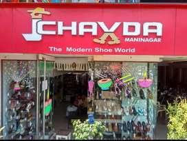 J Chavda Footwear,Maninagar Festival sale Ends in Few Days!