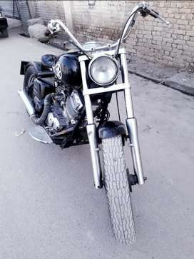 Yammaha dragster 400cc costumise