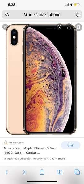 Xs max 64gb gold
