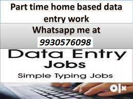 Part Time Data Entry Computer Works Home Based Work