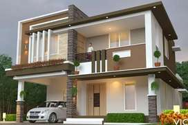 No need to pay rent just pay easy EMI's 3BHK villa for sale
