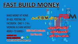 Work and earn in home