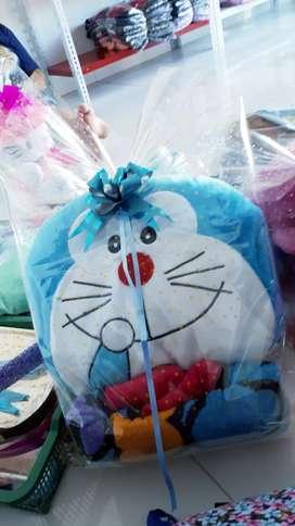 (Realpict)Paket Kado Selimut+Boneka