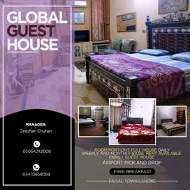 Global  Guest House in FAISAL Town Lahore