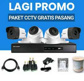 PAKET HEMAT CCTV GRATIS JASA PASANG