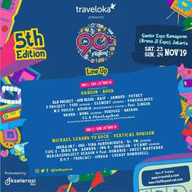 Tiket 90s Festival