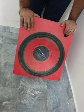"""Woofer Speaker with Bass Tube 15"""" Inches"""