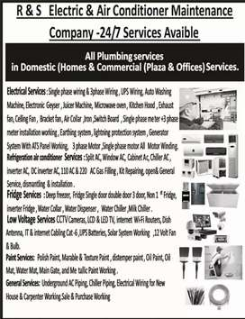 Home appliances repairing