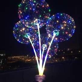 Balon LED Lampu Tumblr Balon Helium LED