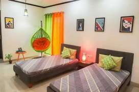2 sharing with ac furnished room male pg 8000 in front stn  goregaon w