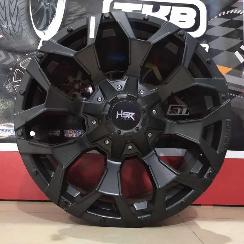 Velg Mobil Pajero Fortuner Hilux Ford Ranger Ring 17 Lubang 6 HSR R17