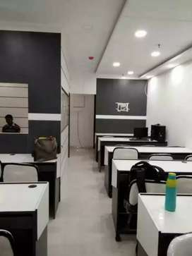 furnished office spase available newtown area