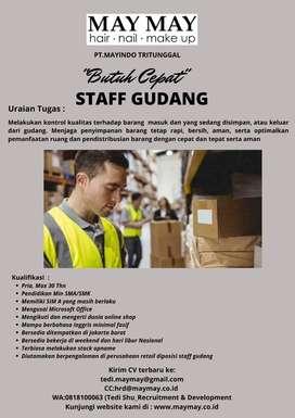 Need urgent staff Gudang