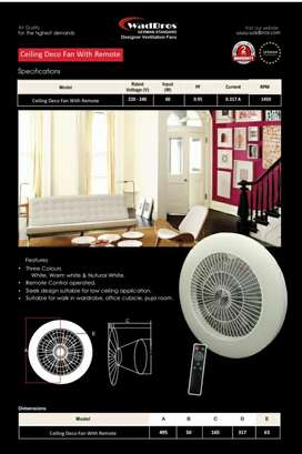 Deco Fan with LED