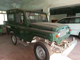This is an army car.this car was used in war.this a antique piece