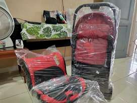 Stoller Joie Mirus dan Car Seat Coco Latte Safee (bundling)