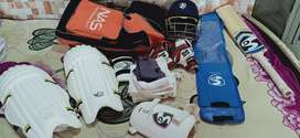 Cricket kit equiments etc
