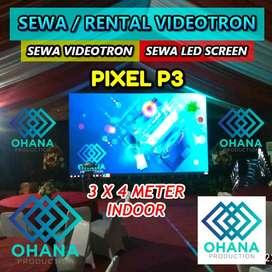 SEWA LED VIDEOTRON P3.91 | RENTAL LED SCREEN | LED DISPLAY P3 INDOOR