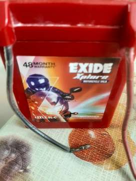 Mottercycle battery exide rs999