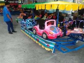 wahana odong odong lengkap Kereta panggung lantai Mini Coaster Am