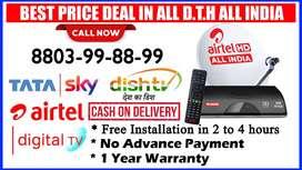 New Dth Airtel Dish TV Dishtv Tata SkyHD tatasky VideoconD2h airteldth