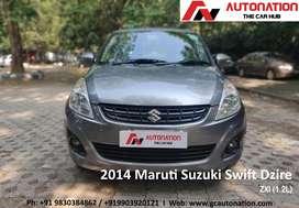 Maruti Suzuki Swift Dzire ZXi 1.2 BS-IV, 2014, Petrol