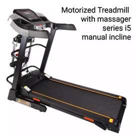 Jual alat fitness treadmil elektric i5 new produk
