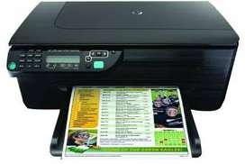 HP  FAX & ALL IN ONE -PRINT ,SCAN, COPY FAX.  CARTRIDGES DRY