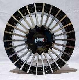 Jual velg racing HSR Ring 15 Untuk mobil Brio, Agya,Calya(bisa credit)