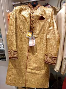 Single use Manyavar Sherwani for sale