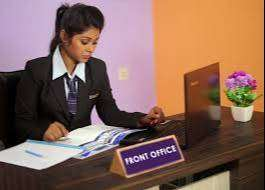 front office Receptionist female job in panchkula