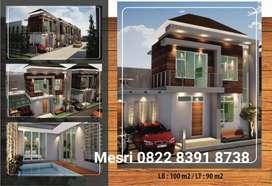 Rumah baru dengan kolam renang pribadi