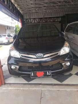 Toyota Avanza G 2012 manual 117 jt nego cash/kredit
